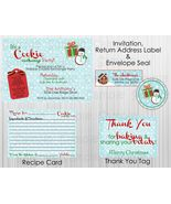 Cookie Exchange Party Package: Complete Printable Package, Invitation included - $15.00