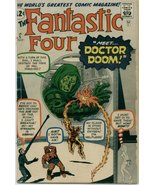 Fantastic Four (1961) # 5 GOOD Condition Marvel Comics - $360.00
