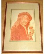 RARE SIGNED W.G.D 1788 18TH CENTURY ART EUROPE PORTRAIT - $4,941.99