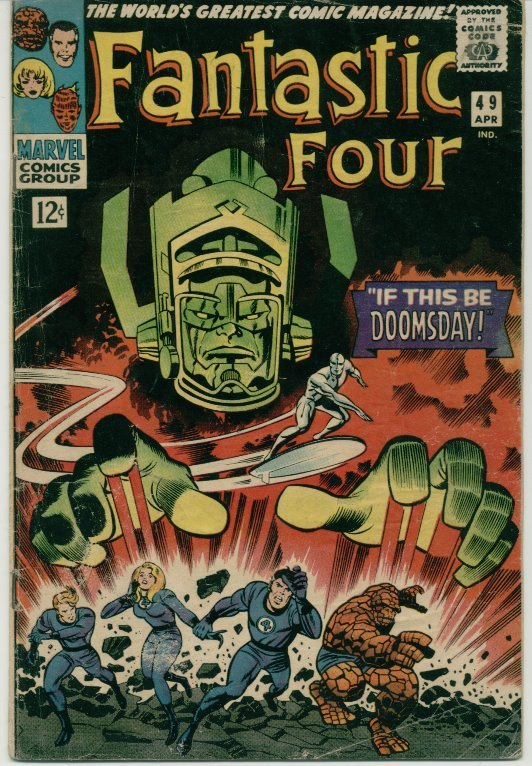 Fantastic Four (1961) # 49 VG Very Good Condition Marvel Com