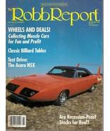 4-   ROBB REPORT MAGAZINES - $19.99