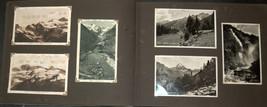 WWII Antique Postcard Album Europe Italy Salerno Merano Paestum Belgium France  image 3