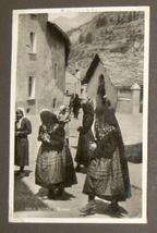 WWII Antique Postcard Album Europe Italy Salerno Merano Paestum Belgium France  image 4