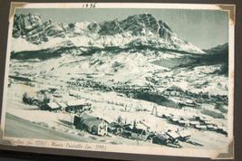 WWII Antique Postcard Album Europe Italy Salerno Merano Paestum Belgium France  image 6