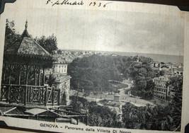 WWII Antique Postcard Album Europe Italy Salerno Merano Paestum Belgium France  image 7