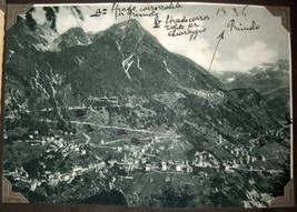WWII Antique Postcard Album Europe Italy Salerno Merano Paestum Belgium France  image 8