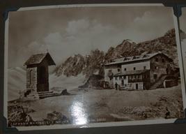 WWII Antique Postcard Album Europe Italy Salerno Merano Paestum Belgium France  image 9