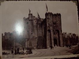 WWII Antique Postcard Album Europe Italy Salerno Merano Paestum Belgium France  image 10