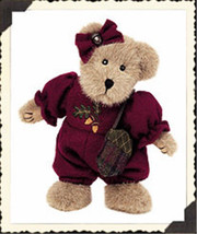 "Boyds Bears ""Andrea Oakley"" #904004- 8"" Plush Bear- 2002-NWT - $23.99"