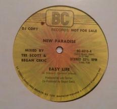 "Rare 1982 New Paradise ""East life"" BC Records 12"" album vinyl single LP ... - $59.01"