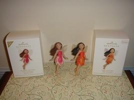 Hallmark 2012 Repaint Stargazer & Tiger Lily Fairy Messengers Series Orn... - $34.99