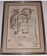 "Rare Hand Signed Anton Toni Krajnc ""Dream of Magic"" Artist Proof Litho A... - $2,453.51"