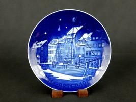 "Bing & Grondahl Christmas Plate, 7.25"", 1989 Christmas Anchorage, #PLT18B - $14.65"