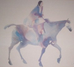 "Rare large framed & double matted Carol Grigg ""... - $766.03"