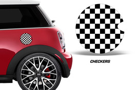 Mini Cooper Custom Gas Cap Decal Graphic Sticke... - $9.96