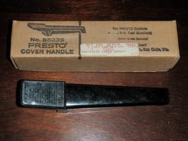 Presto Black Cover Handle No. 85239 for 4 qt & 6 qt Cast Aluminum Cooker... - $18.61