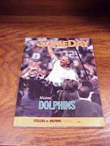 Game Day Miami Dolphins vs. Pittsburgh Steelers Program from November 20... - $8.95