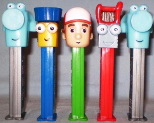 PEZ Dispensers Loose Handy Manny