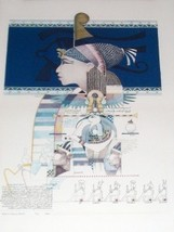 "S/N LTD ED. 1983 JOHN L. DOYLE ""TRUTH""' EGYPT ART PRINT - $675.49"
