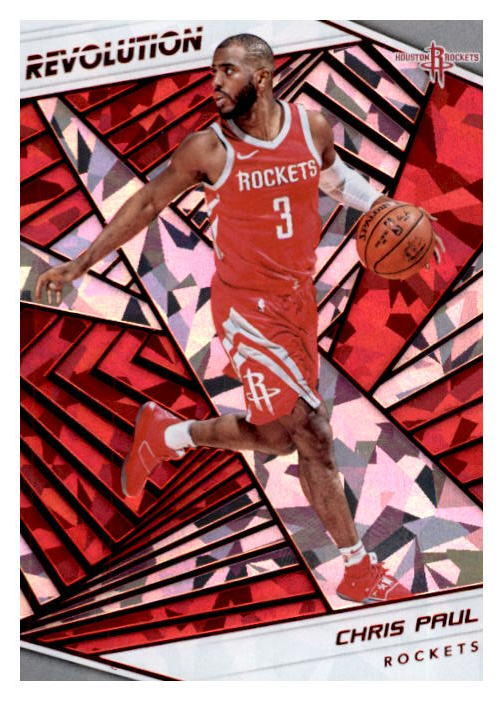 Chris Paul 2018-19 Panini Revolution Chinese New Year Parallel Card #38