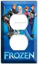 DISNEY FROZEN ANNA ELSA HANS OLAF OUTLET COVER WALL PLATE CHILDREN'S PLA... - $9.99