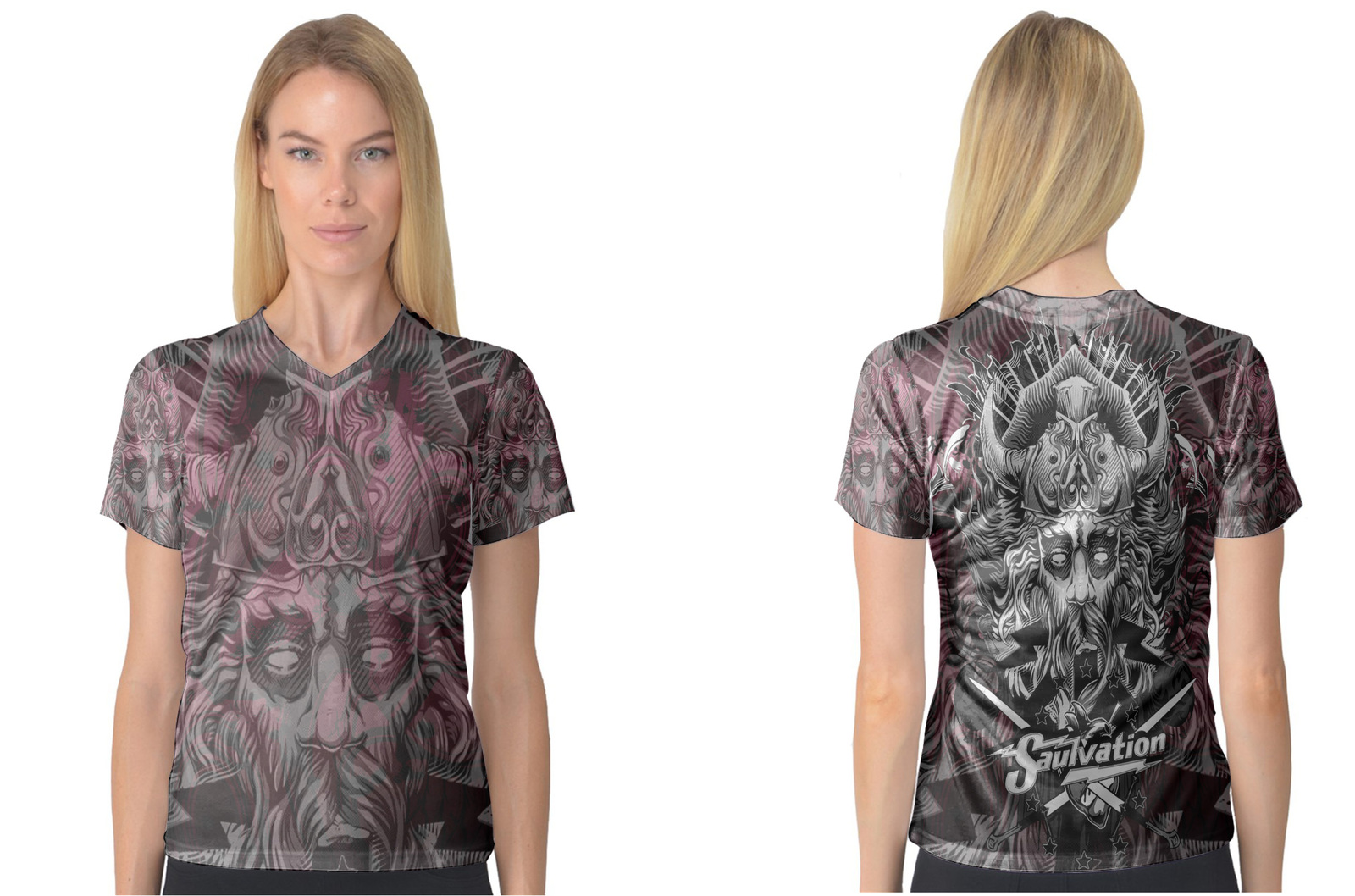 Primary image for Tatoo Collection #3 Women's V-Neck T-Shirt