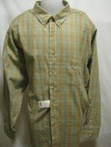 ARROW TOURNAMENT CHEVELLA Mens Button Up Shirt 2XL XXL Plaid Long Sleeve... - $27.80
