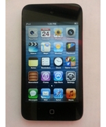 Apple iPod Touch 4th Generation 8GB Portable Black MP3 Music Player + US... - $109.00