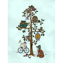 Woodland Fox Ornament Woodland Whimsy #6 ornament version cross stitch JABC - $12.00