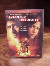 Ghost Rider Movie DVD, Widescreen Edition, with Special Features, PG-13,... - $4.95