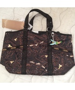Lesportsac Disney Neveraland Small Carryall Tote NWT Tokyo exclusive w/c... - $299.00