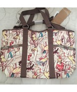 Lesportsac Disney Tinkerbell Small Carryall Tote NWT Tokyo exclusive w/c... - $269.00