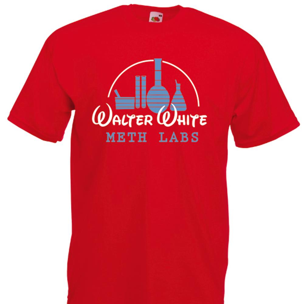 Breaking Bad inspired Meth Labs Walter White Heisenberg T-Shirt - T ...