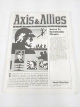 PART Directions Axis & Allies 1984 Milton Bradley WWII Gamemaster Series... - $13.82