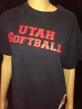 Utah Softball Womans T Shirt Size Medium Bin #V - $11.30