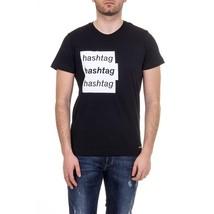 XL Diesel Mens T-Shirt ADV-T-HASH 00SSYW 0LAKY 900 - $113.49
