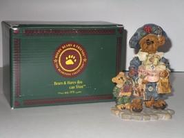 Boyds Bear ~ Grace & Jonathan…Born to Shop Figurine w/ Box - $11.39