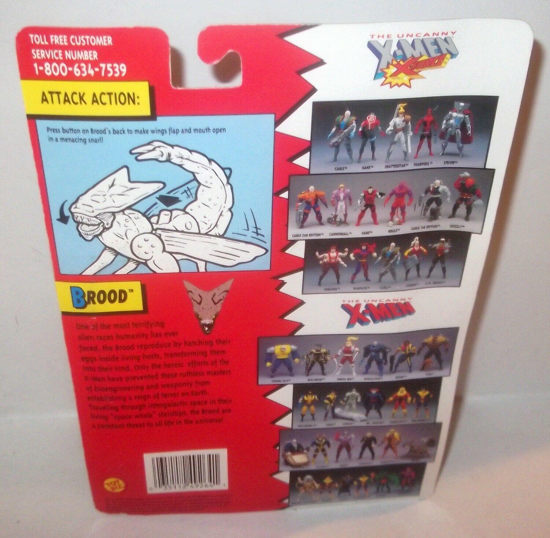 ✰ BROOD ACTION FIGURE X-MEN MOC ~ TOY BIZ 1994