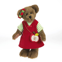 "Boyds Bear ""Cortland Appleseed"" 14"" Plush Bear- #4034125 - NWT- 2013 - $44.99"