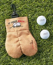 MySack Golf Ball Storage Bag | This Funny Golf Gift Is Sure to Get a Lau... - $29.43