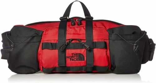 THE NORTH FACE NM71864 Lumbar Fanny Pack Mountain Biker Red - $98.99