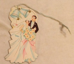 1930s era Married Couple Bunko Tally Card Husband and Wife  - $14.84