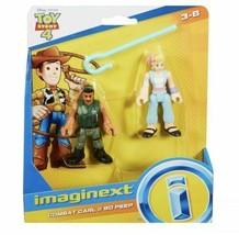 Fisher-Price Imaginext Toy Story Figures Set (2018) Combat Carl & Bo Peep - $8.41