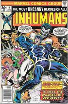 The Inhumans Comic Book #9, Marvel Comics 1977 VERY FINE - $10.69