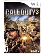 Wii Game - Call of Duty 3 - $10.00