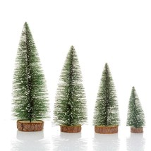 Mini Christmas Tree Small Pine Tree Christmas Decoration Desktop Table D... - £6.11 GBP+