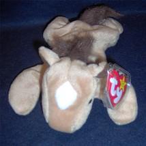 '97 Ty Beanie Baby Derby The Horse Fluffy Fine Mane Star 5th Gen Ht 1st Ver Mwmt - $5.88