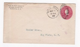 WIARD PLOW CO., BATAVIA, NEW YORK MAY 11 1899 - $2.98