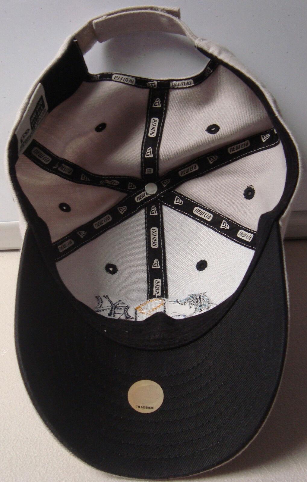 Vint New Era 2003 World Series Yankees Marlins ADJ Strap Ball Cap Mens 1 Size