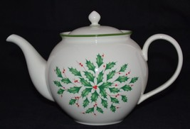 Lenox Holiday Dimension 40oz  5 Cup Tea Pot Hol... - $25.82